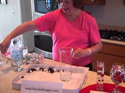 Vase Pearls and how to store water beads
