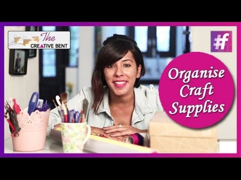 5 Tips To Organise Craft Supplies
