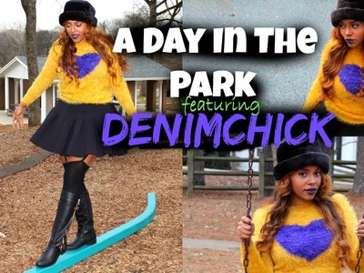 A Day In The Park Outfit Of The Day Featuring Denim Chick