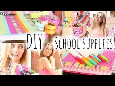 BACK TO SCHOOL: DIY School Supplies & Haul! | Girls Only
