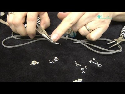 Bead Time Tutorial How To Use Jump Rings, Cord Tips And Bales