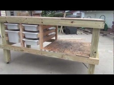 Building an art and craft table
