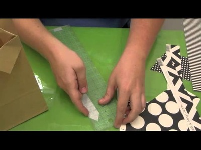 Crankin' Out Crafts -ep369 Tie Treat Bags (Father's Day)