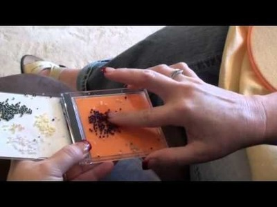 Cross Stitch Beading - Julie's Cross Stitch Tips
