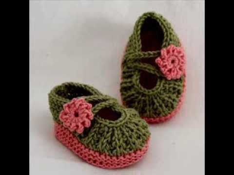 Daisy Baby Booties - Knitting Pattern Presentation