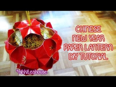 DIY Chinese New Year Paper Lantern!