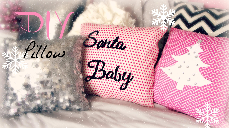 DIY Decorative Christmas Pillow