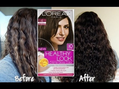 DIY: Dye Your Hair at Home & Loreal Hair Color Review