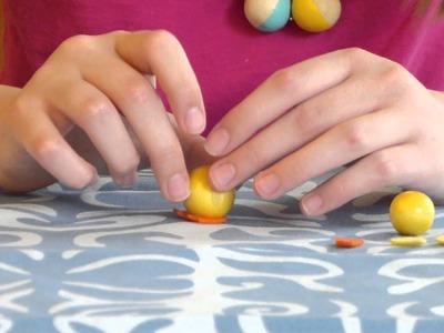 DIY Easter Kids Craft Tutorial: Wooden Bead Babies