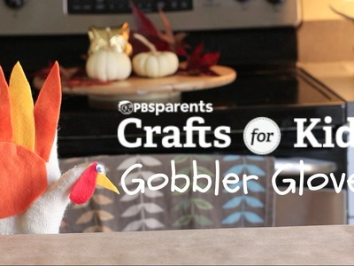 DIY Gobbler Glove | Thanksgiving Crafts for Kids | PBS Parents