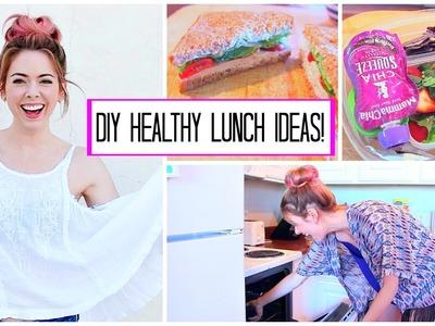 DIY Healthy School & Work Lunch Ideas!