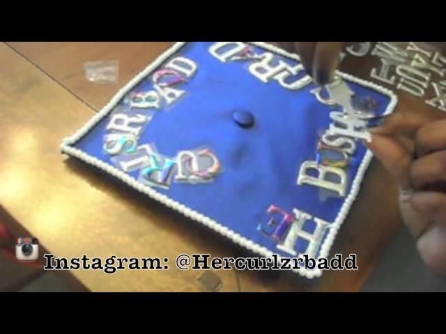 DIY: How to Decorate Graduation cap