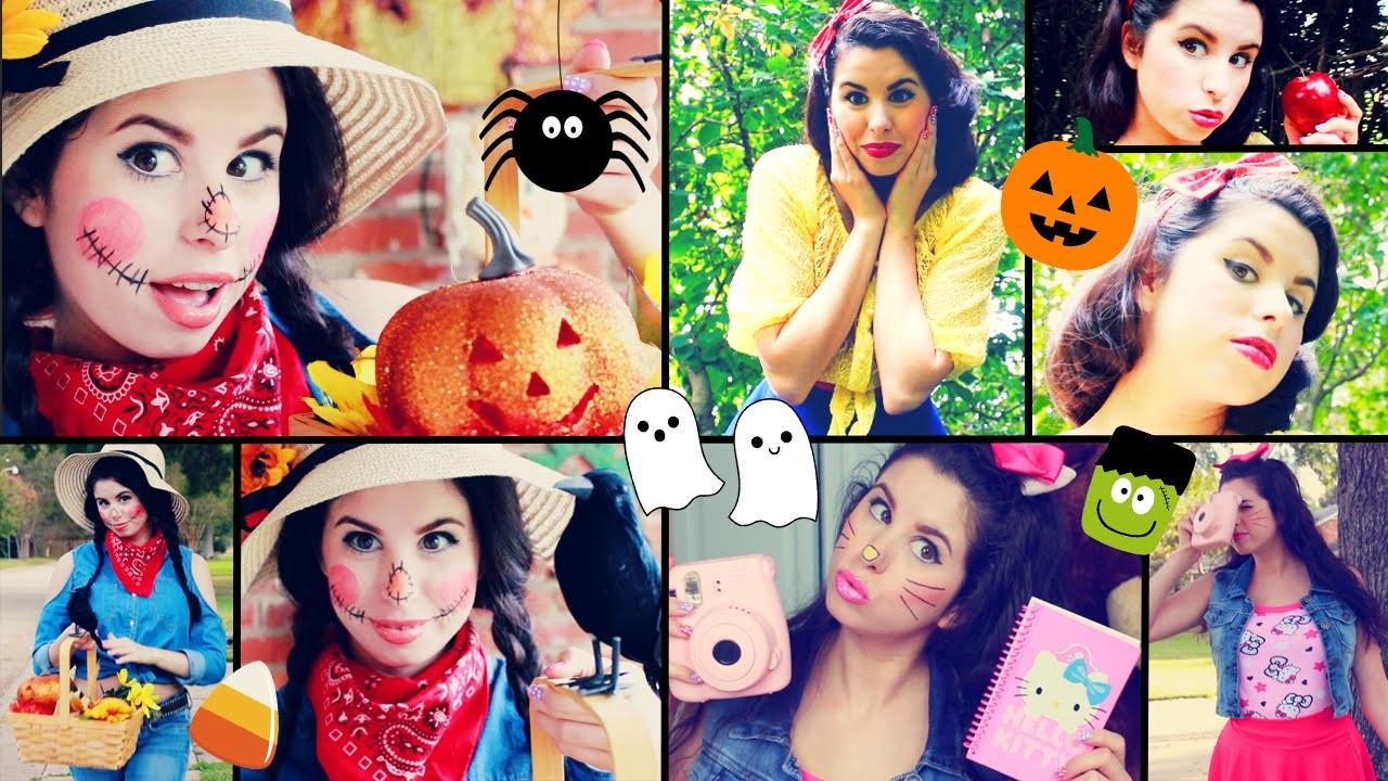 DIY Last Minute Halloween Costume Ideas! | Quick & Easy!