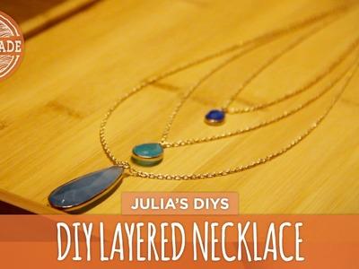 DIY Layered Necklace - HGTV Handmade