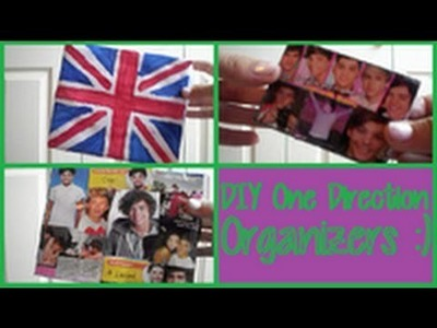 DIY One Direction Organizers!!