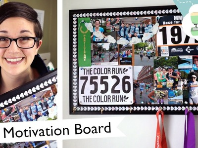 DIY Running Motivation Board - New Year, New You