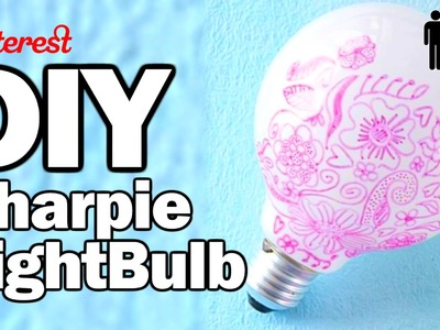 DIY Sharpie Bulb - Man Vs. Pin #28 w.OlgaKay