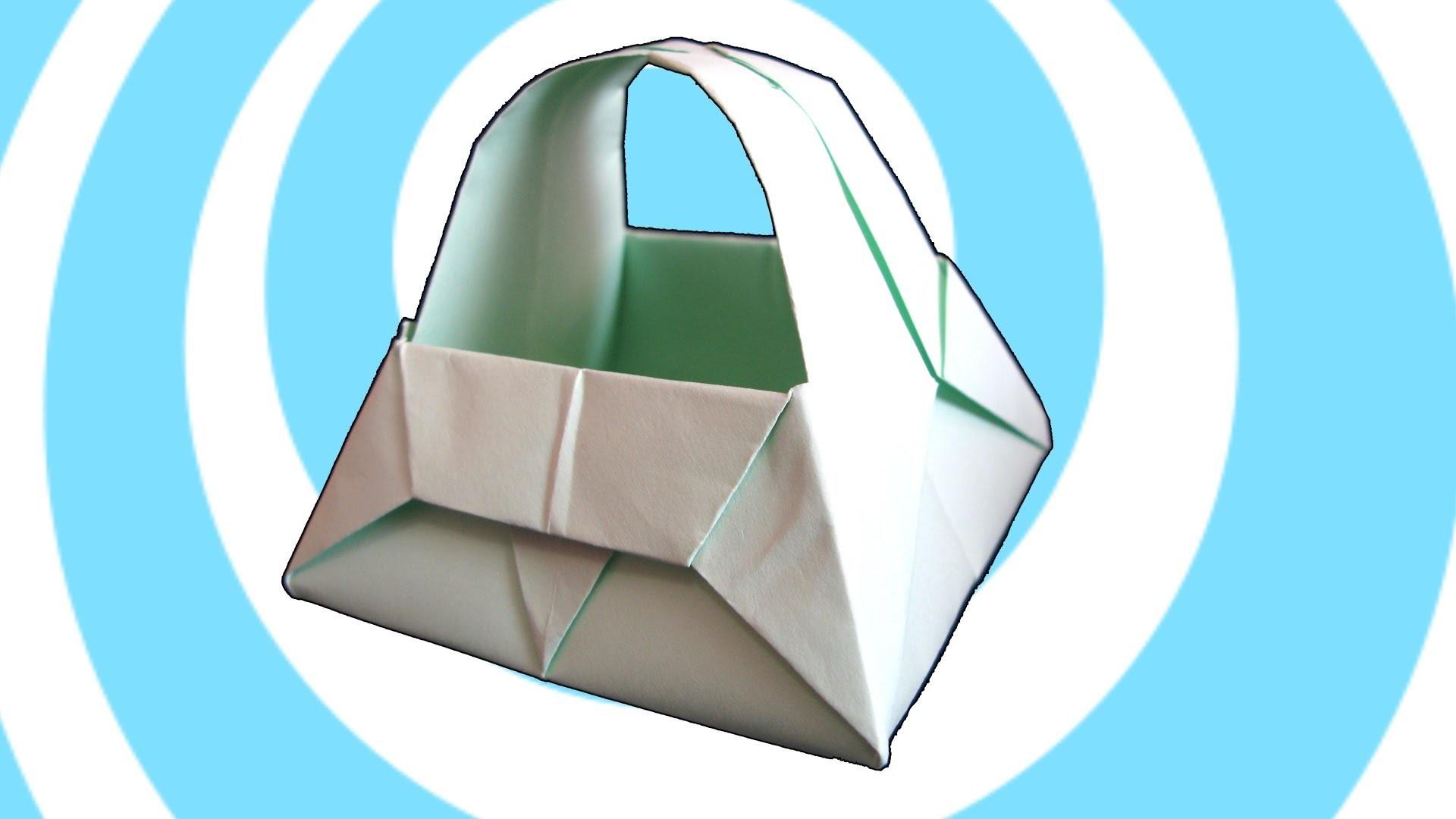 Easter Paper Origami Basket Tutorial