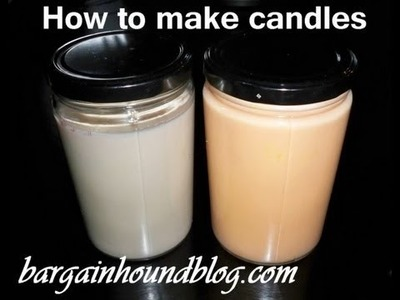 EASY how to make Soy candles!
