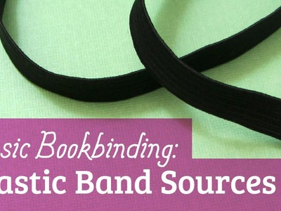 Elastic Band Sources for Bookbinding