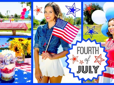 Fourth of July Outfit Ideas, DIY Treats + Party Decor!