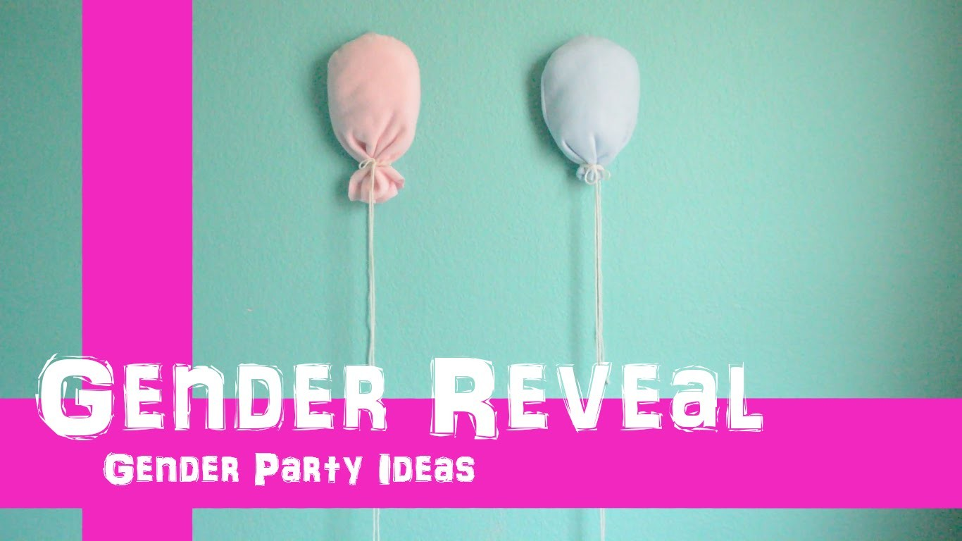 Gender Reveal Twins - How to use a gender reveal balloon.
