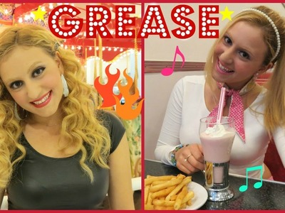 GREASE!!! ROCK With Glam Barbie ♥ (Easy DIY Costume)