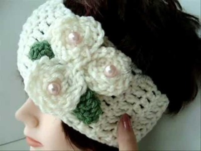 HOW TO CROCHET A BASIC HEADBAND