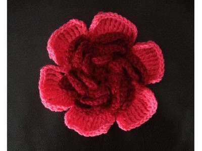 How to Crochet a Flower Pattern #21 by ThePatterfamily