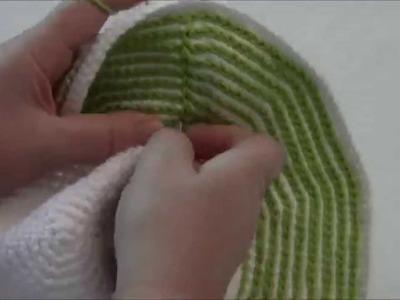 How to Crochet Slip Stitch a Hat Brim
