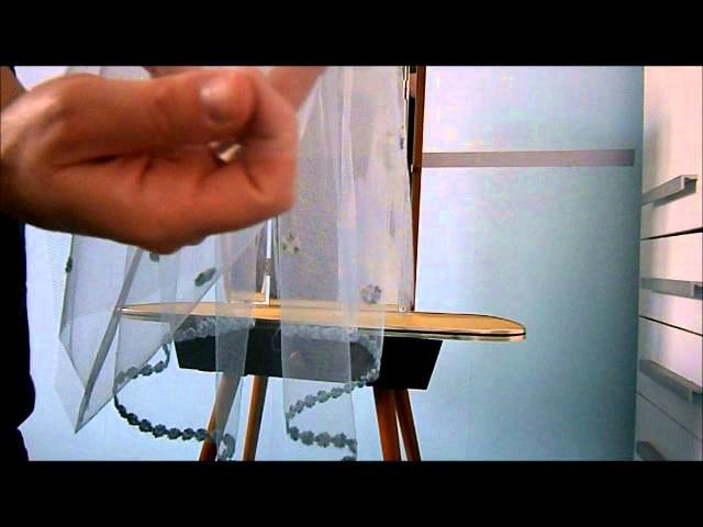 How to DIY: Wedding veil - short tutorial