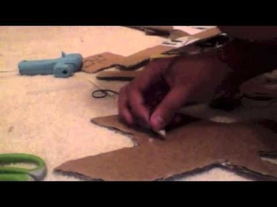 How to Make a cardboard electric guitar Part 3