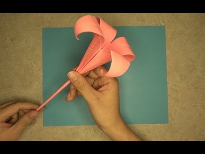 How to make a Lily: Mr.Origami, Lesson 7