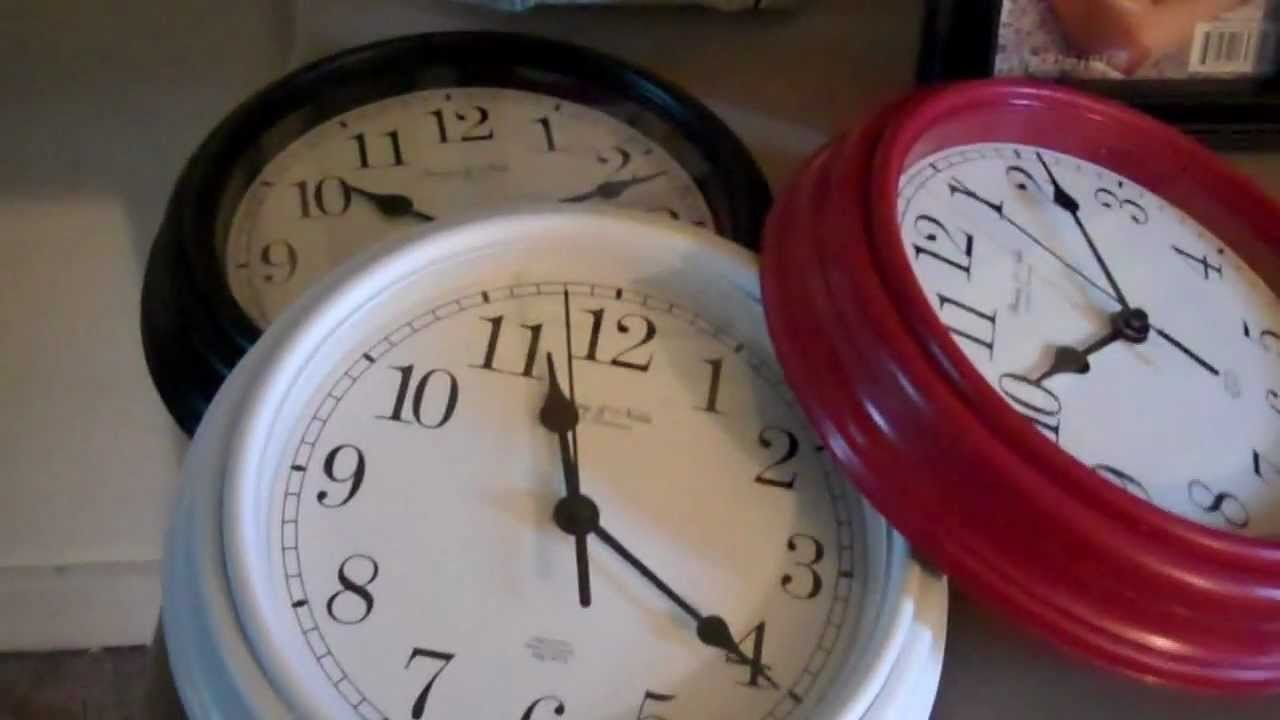 How To Make A Wall Clock Video 1