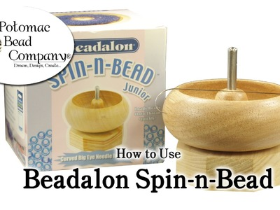 How to Use Beadalon Spin-N-Bead (Bead Spinner)