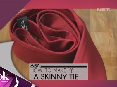 ILook - DIY How To Make A Skinny Tie