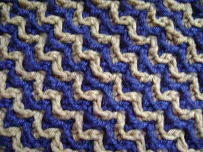 Interlocking Crochet™ - Zigzag Design