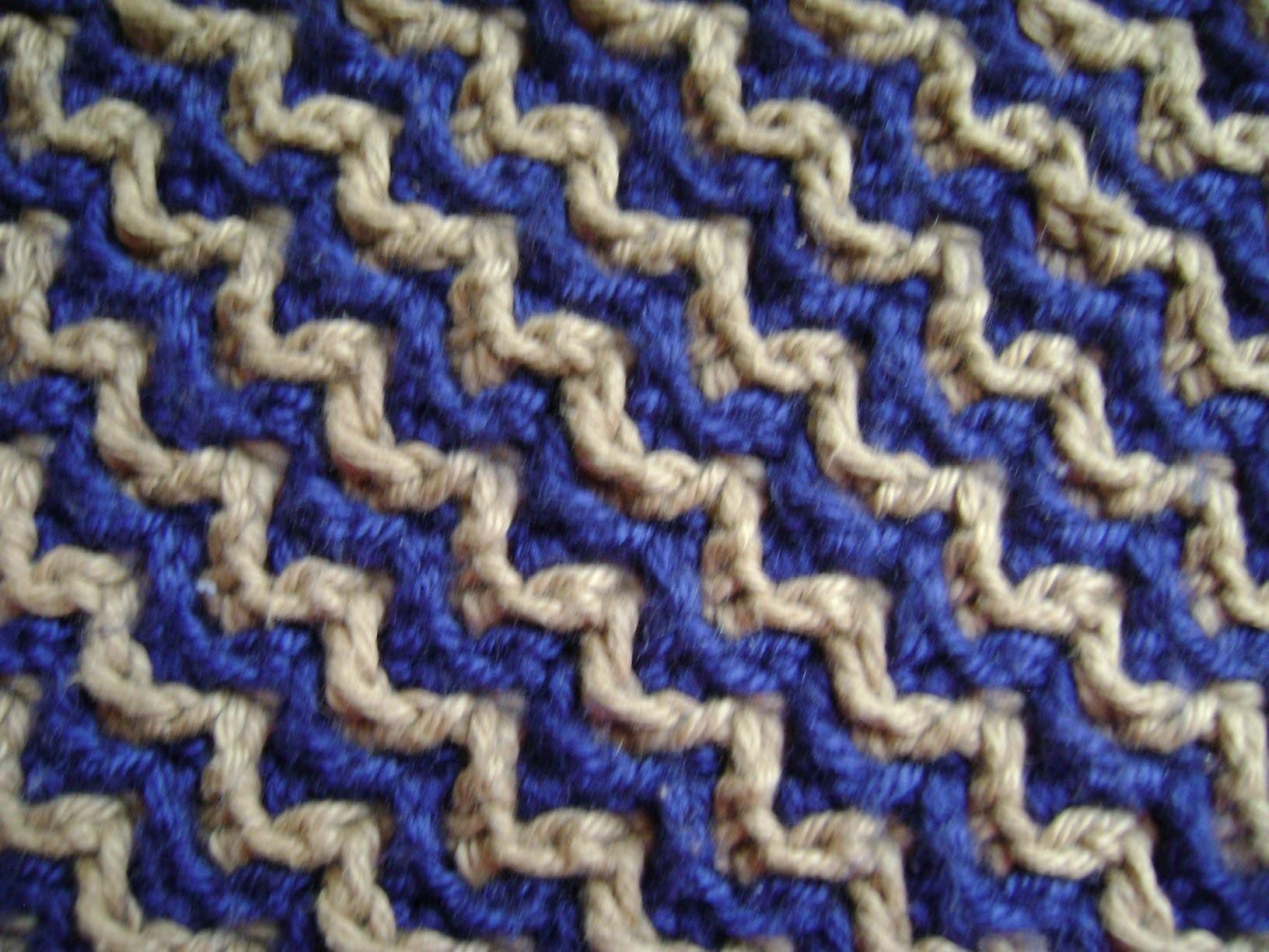 Crochet como hacer 8 puntos basicos de crochet trapillo - Puntos crochet trapillo ...