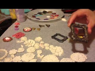 Martha Stewart's crafters Clay Vs. polymer clay charms