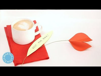 Mother's Day DIY Folded Tulip Cards - Martha Stewart