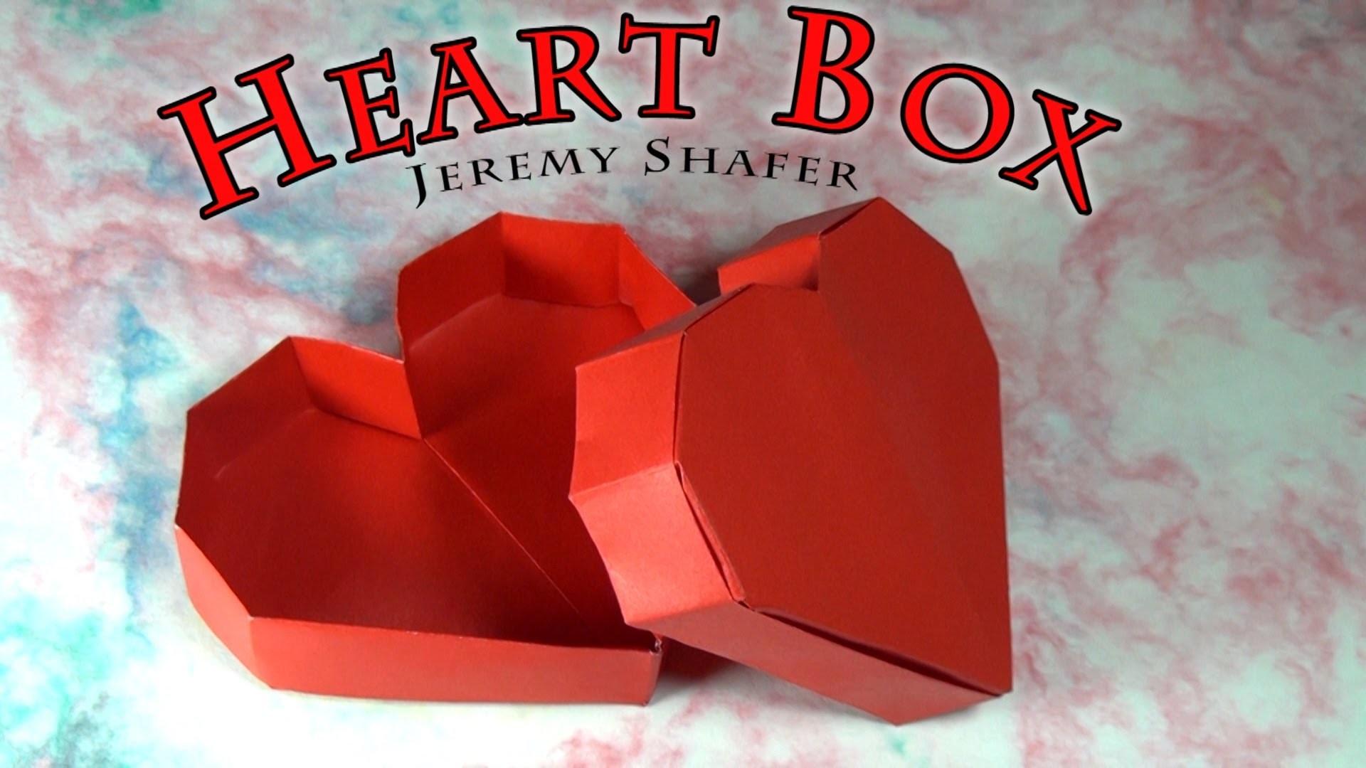 Origami Heart Box