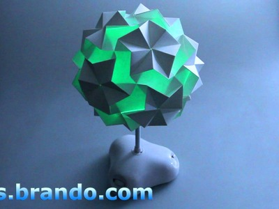 Origami - Paper Folding Mysterious Desk Lamp