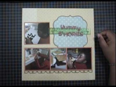 Scrapbook Tutorial 11-13-09 [Part 1]