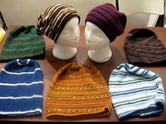 Slouch Hats Crochet Pattern Idea's