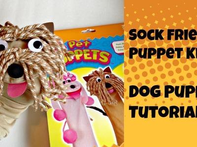 Sock Friends Puppet Kit: Dog Puppet Tutorial