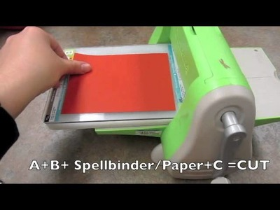 Spellbinders - tips and techniques