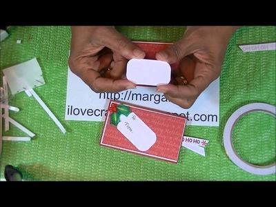 Toilet Paper Roll Gift Card.Money Holder