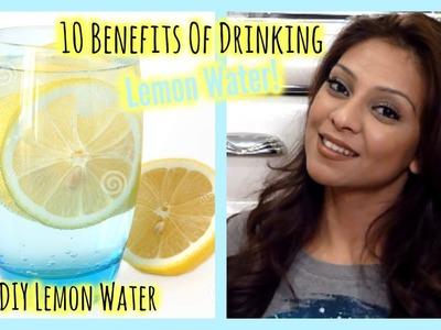 10 Reasons to Drink Lemon Water + DIY Lemon Infused Water! │ Skin, Hair, Energy & More