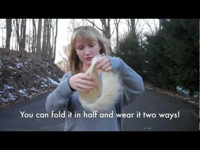 12 Days of DIY: DO IT YOURSELF Faux Fur Headband