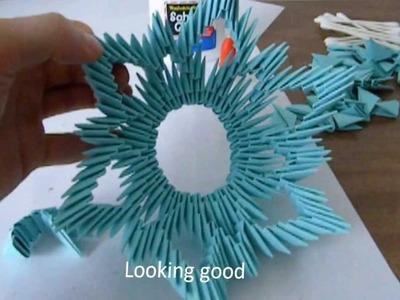 3D Origami Vase Tutorial: Frame 1